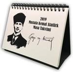 İstisna Masa Takvim Atatürk 2019