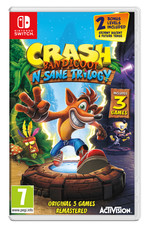 Switch Crash Bandicoot