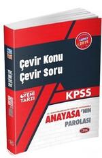 2019 KPSS Çevir Konu Çevir Soru Anayasa'nın Parolası