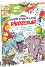 Dinozorlar 1-Boya Yapıştır Birleştir Oyna!