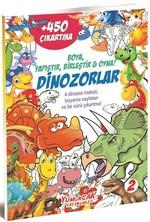 Dinozorlar 2-Boya Yapıştır Birleştir Oyna!