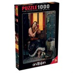 Anatolian Puzzle 1000 Parça Kızıl Kadın/Crimson Rose 1072