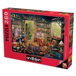 Anatolian Puzzle 260 Parça Oyuncakçı Barakası 3325