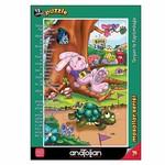 Anatolian Puzzle 15 Parça Tavşan İle Kaplumbağa 7451