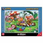 Anatolian Puzzle 15 Parça Ağustos Böceği ile Karıncalar 7452