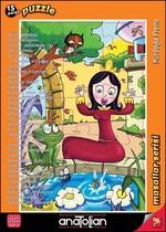 Anatolian Puzzle 15 Parça Kurbağa Prens 7453