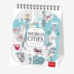 Legami Masa Takvimi Dünya Şehirleri 12x14,5 2019