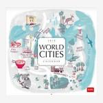 Legami Duvar Takvimi Dünya Şehirleri 30x29 2019