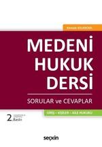 Medeni Hukuk Dersi-Sorular ve Cevaplar