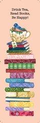 G.Alfa Ayraç Drink Tea, Read Books, Be Happy - Keyif Serisi Kitap Ayraçları