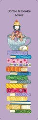 G.Alfa Ayraç Coffee&Books Lover - Keyif Serisi Kitap Ayraçları