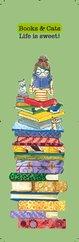 G.Alfa Ayraç Books&Cats Life is Sweet - Keyif Serisi  Kitap Ayraçları