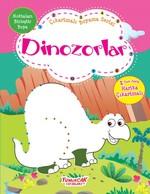 Dinozorlar-Çıkartmalı Boyama Serisi