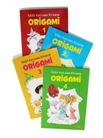 Origami Seti-4 Kitap Takım