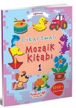 Eğlenceli Çıkartmalı Mozaik Kitabı-1