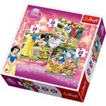 Trefl Puzzle 3 in 1 Snow White/Disney SW 34038