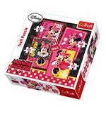 Trefl-Puzzle 4in1 Beautiful Minnie/Disney Minnie 34119