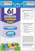 6.Sınıf Türkçe Konu Özetli Yaprak Test