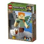 Lego Minecraft Tavuklu BigFig Alex (21149)