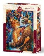 Art Puzzle Aşık Kedilerin Dansı 1000 Parça 4226