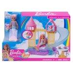 Barbie Bebek D.topia Denizkızı Chelsea ve Şatosu Oyun Seti FXT20