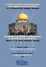 4.Uluslararası Orta Doğu Sempozyumu-Orta Doğu'da Barışı Tesis Etmek