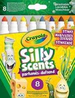 Crayola Silly Scents Kalın Keçeli Stınky Boya Kalemi 8'Li