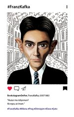 Aylak Adam Hobi-Franz Kafka Bookstagram Defter