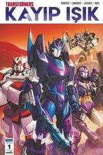 Transformers Kayıp Işık-Bölüm 1 Kapak A