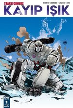 Transformers Kayıp Işık-Bölüm 1 Kapak B