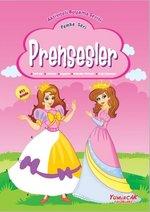 Prensesler Pembe Seri-Aktiviteli Boyama Serisi