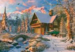 Ks Games-Puzzle 1000 Parça Winter Holiday (20503)