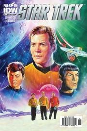 Star Trek Sayı 1 Nostalji Kapak-Çizgi Roman Dergisi