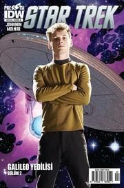 Star Trek Sayı 4 Kapak B-Çizgi Roman Dergisi