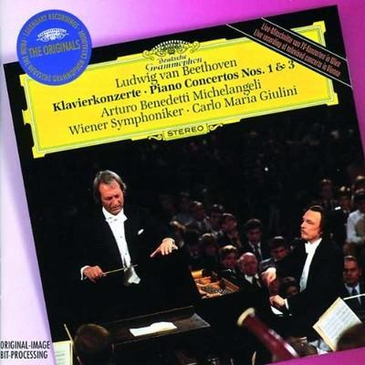 Beethoven: Piano Concertos Nos:1&3 [Wiener Philharmoniker,Carlo Maria Giulini]