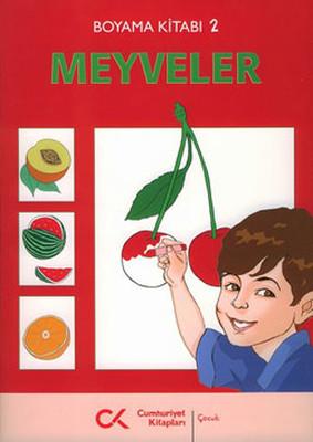 Boyama Kitabı 2 - Meyveler