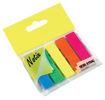 Notix Neon Ayrac 5 Renk 125 Yp Asmali N-NA-FP