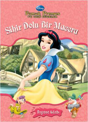 Pamuk Prenses Sihir Dolu Bir Macera Suluboya Kitabi Kolektif
