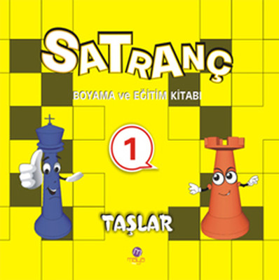 Satranç Boyama Kitabı 1