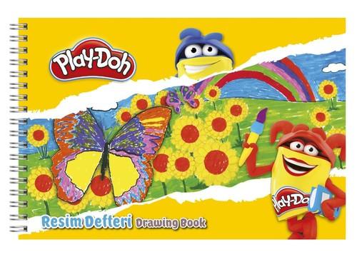 Play-Doh 17x25 Resim Defteri PLAY-RD001
