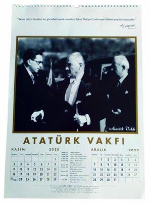 Atatürk Vakfi 2018 Duvar Takvimi