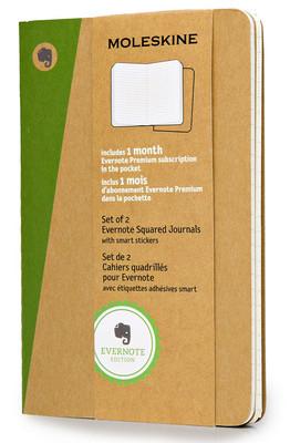 Moleskine Evernote Smart Squared Journal Pocket Notebook (Kareli)