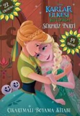 Disney Karlar Ulkesi Dovmeli Ve Cikartmali Boyama Kitabi Surpriz
