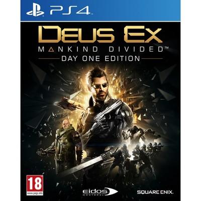 Deus Ex:Mankind Divided Steelbook Edt. Ps4