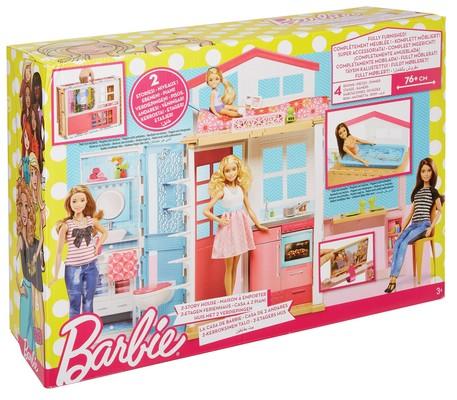 Barbie Portatif Evi DVV47