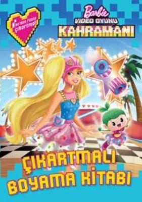 Barbie Video Oyunu Kahramani Cikartmali Boyama Kitabi Kolektif