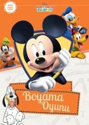 Mickey Fare Nin Kulup Evi Boyama Oyunu Kolektif Fiyati Satin