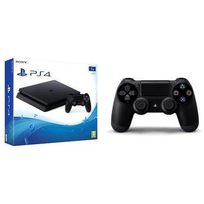 PS4 1TB D Jetblack + Dualshock 4