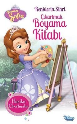 Prenses Sofia Renklerin Sihri Cikartmali Boyama Kitabi Kolektif