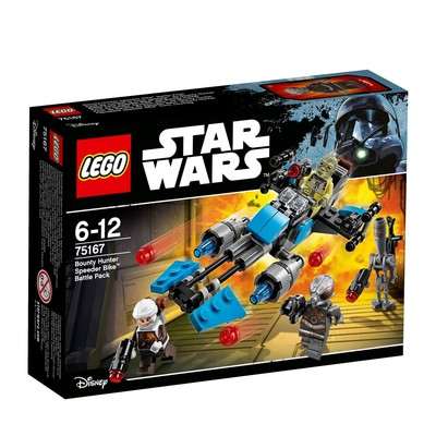 Lego-SW Bo.Hun.Spe.BikeBat.Pac 75167
